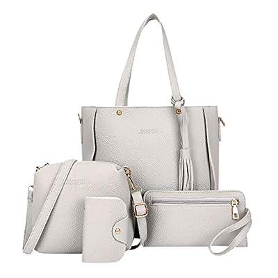 Woman Bag 2019 Four-Piece Shoulder Bag Messenger Bag Wallet Handbag