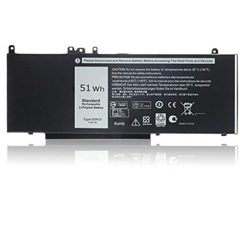 New Replacement G5M10 Laptop Battery for Dell Latitude E5450 E5550 E5570 Battery Fit Type 7V69Y 6MT4T 8V5GX 79VRK TXF9M WYJC2 0WYJC2 08V5GX Notebook Battery
