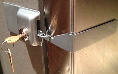 Fridge Lock Refrigerator Door Lock (Grey)