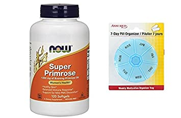 Amazon.com: AHORA Super onagra 1300 mg, 120 cápsulas: Health ...
