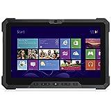 Dell Latitude Rugged 7202 HD 11.6 Inch Tablet PC (Intel Core M-5Y10C, 4GB Ram, 128GB Solid State SSD, Dual Camera, Mini HDMI, SC Card Reader, USB 3.0) Win 10 Pro (Certified Refurbished)