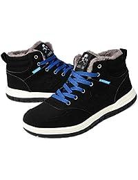 Snow Boots Waterproof Fashion Lightweight Winter Shoes Anti-Slip Outdoor Sneaker for Women Men
