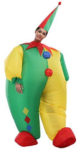 [2017 Amusement Park Funny Inflatable Clown Costume for Halloween Carnival Party (13 Other Characters)] (Inflatable Costumes 2017)