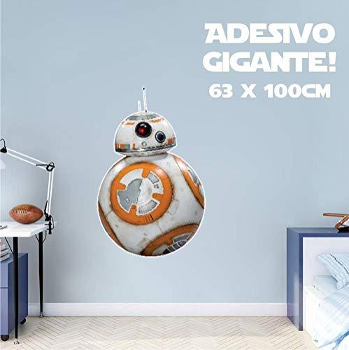Adesivo De Parede Decorativo - BB8 - Star Wars