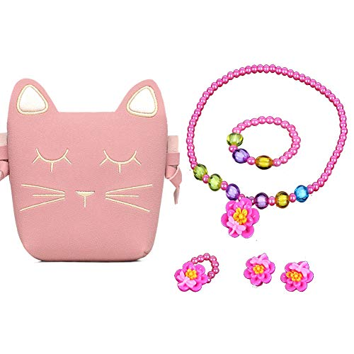 Hpwai Little Girls Beauty Pink Cute Cat