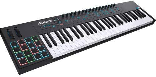 Alesis VI61 | Advanced 61-Key USB MIDI Keyboard & Drum