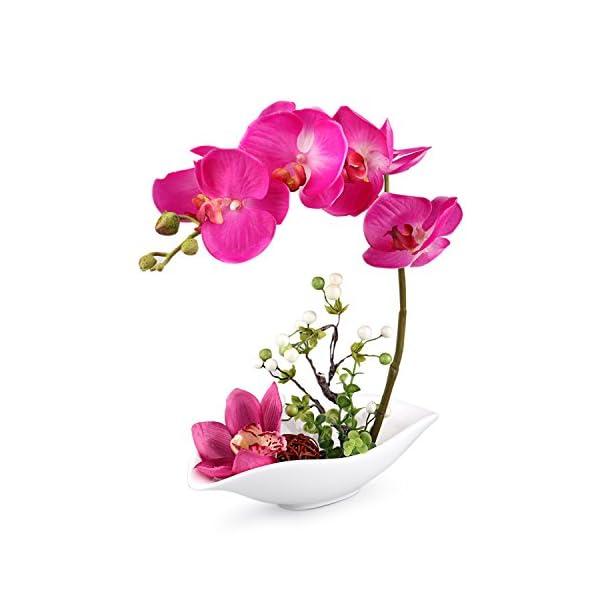 Louis-Garden-Artificial-Silk-Flowers-7-Head-Simulation-Phalaenopsis-Bonsai-Simulation-of-Water