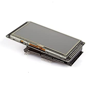 Lcd Module Optoelektronische Displays Neue 7 zoll Tft Lcd Modul 800x480 Ssd1963 Touch Pwm Für Arduino Avr Stm32 Arm 800*480 800 480 Digital Control Board