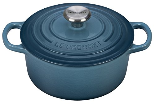 Le Creuset Signature Enameled Cast-Iron 2-Quart Round French (Dutch) Oven, Marine by Le Creuset (Image #1)
