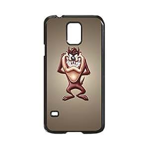Looney Tunes Tasmanian Devil Taz Minimalism Case Durable Unique Design Hard Back Case Cover for Samsung Galaxy S5 I9600 (Regular) New