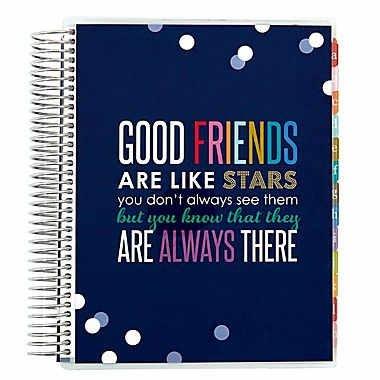 amazon com erin condren friends family address book 7 25 x 9 25