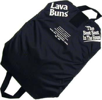 Lava Buns - Warming/Cooling Seat Cushion - Black