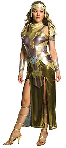 Rubie's Costume Women's Wonder Woman Movie Deluxe Hippolyta Costume, As Shown, Large -