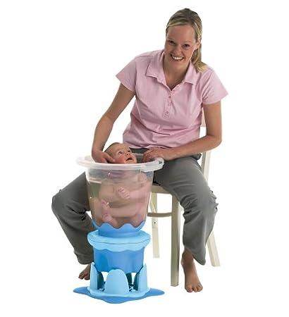 Awesome Amazon Com Tummy Tub Two Step Stool And Stand In Blue Creativecarmelina Interior Chair Design Creativecarmelinacom