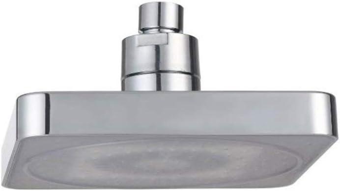 DYMAS 6-pulgadas LED potencia generación colorido auto cambio ducha regadera, apto para todo tipo de cabello: Amazon.es: Bricolaje y herramientas