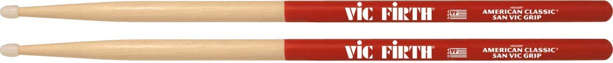 Palillos Vic Firth 5A punta de nylon