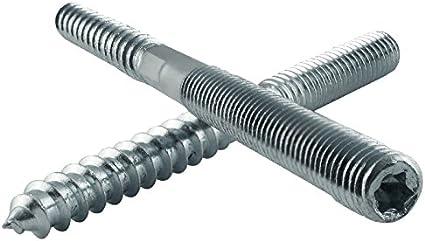 galv 25 St verzinkt TX Torx /Ø10 Stockschrauben Schraubstifte Holzgewinde M10 50 St /Ø 10x100 mm // 50 St.