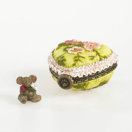 Boyds Bear Collection Momma's Pretty Lil' Pillow with Posey McNibble-Boyds Bears Treasure Box (Boyds Bear Treasure Box)
