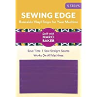 Sewing Edge - Reusable Vinyl Stops for Your Machine: 5 Strips