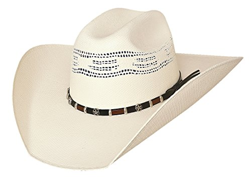 - Bullhide Hats 2803 Rodeo Round-Up Collection Go-Round 20X Natural Cowboy Hat