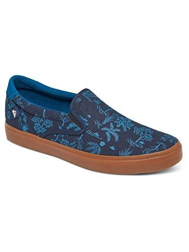 Quiksilver Shorebreak - Zapatillas para niño, Color: BLUE/BLUE/WHITE, Talla: 12(29) (Niños/Kids)