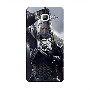 Cover It Up - Silver Witcher blade Galaxy A3 Hard Case