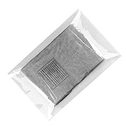 Poly Flat Bags 18x24 Clear packing bags 18 x 24 by Amiff. Pack of 20 Polyethylene bags. 12 Languages Warning. 2 Vent Holes. Non-sticky. Mailing, ...