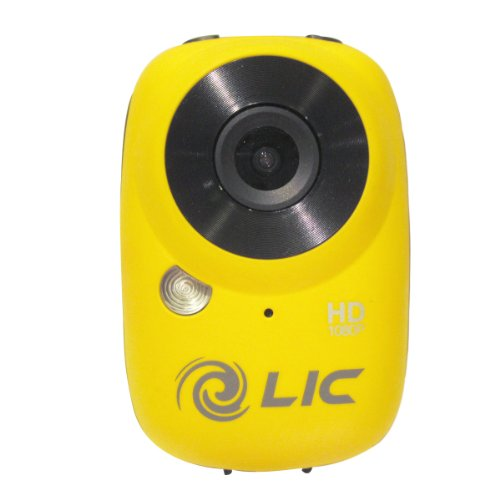 Liquid Image Ego Series 727Y Mountable Sport Video Camera with WiFi (Yellow) by Liquid Image