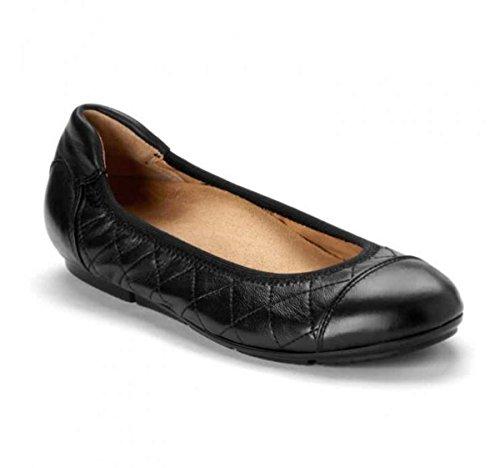 Vionic Ava Womens Ballet Flats Black - 6 Medium by Vionic