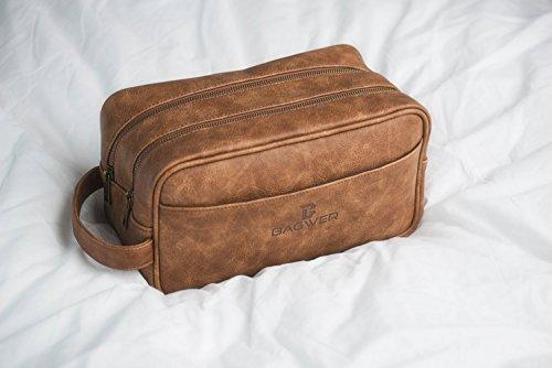 279a4ae626 BAGWER Large Men s Toiletry Bag
