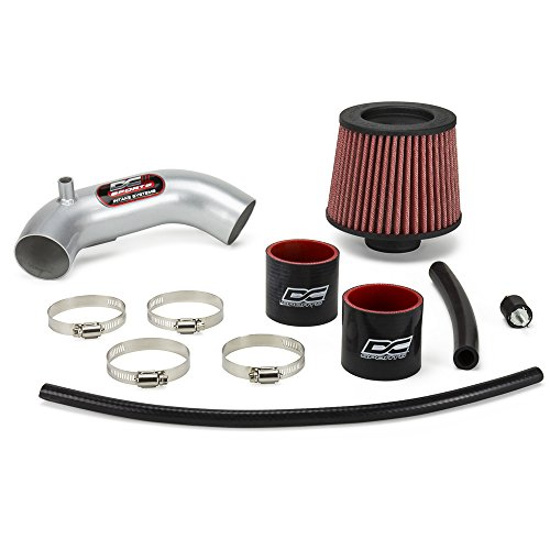 DC Sports SRI5525 CARB Compliant 2006-11 Civic DX/LX/EX Performance Short Ram Air Intake System Bolt-On Kit in Polished Silver