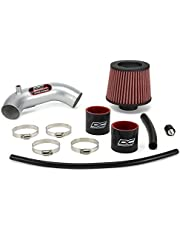 DC Sports SRI5525 Polished Short Ram Intake System with Filter and Installation Hardware
