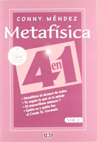 Metafísica 4 En 1 Volumen 1 Normal Spanish Edition 9788489897144 Méndez Conny 1898 1979 Books