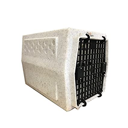 Ruff Tough Kennels >> Ruff Tough Kennels Midsize Single Door Kennel Crate Dog House L 24 W 17 H 18 White