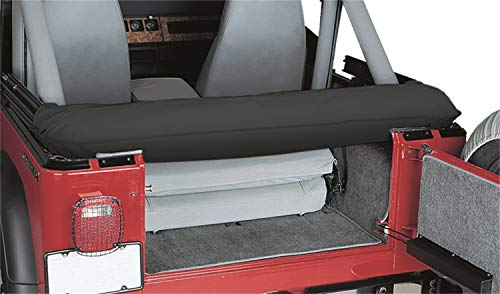 Soft Top Boot - RAMPAGE PRODUCTS 600015 Soft Top Storage Boot for 1997-2006 Jeep Wrangler TJ, Black Denim