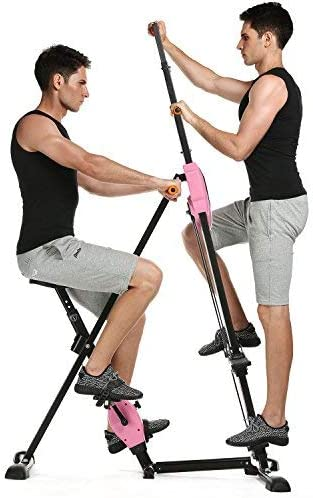 Anfan Vertical Climber Exercise Climbing Machine Fitness Cardio Workout Trainer