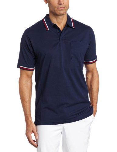Majestic Iu20 Umpire Polo Shirt (Navy, X-Large)