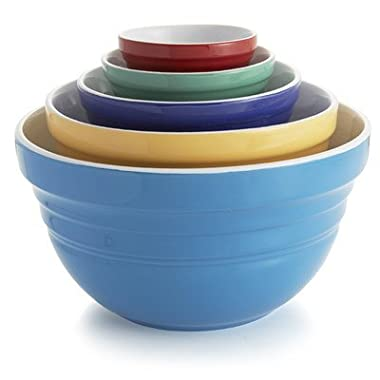 American Atelier Bistro Saturn Assorted Bowls (Set of 5), Multicolor