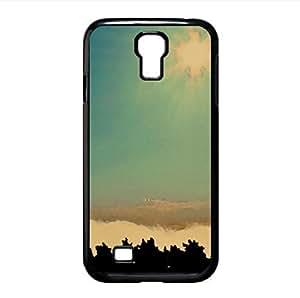 lintao diy Mist Watercolor style Cover Samsung Galaxy S4 I9500 Case (Sun & Sky Watercolor style Cover Samsung Galaxy S4 I9500 Case)