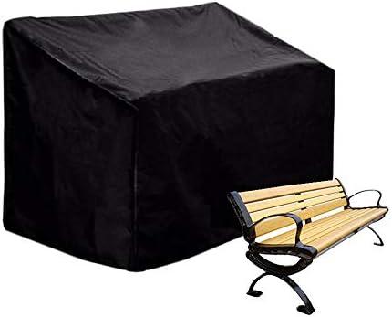 Womdee - Funda para Banco de jardín de 4 Asientos, Tela de poliéster Impermeable para Banco de jardín, sofá y Muebles de Patio al Aire Libre (190 x 66 x 89 cm): Amazon.es: Hogar
