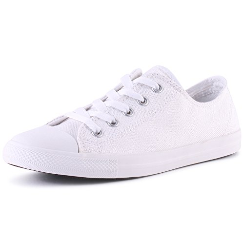 outlet release dates Converse Women's As Dainty Sheer Ox Low-Top Sneakers White wide range of cheap price cheap sale latest collections utQW9Zmzk3