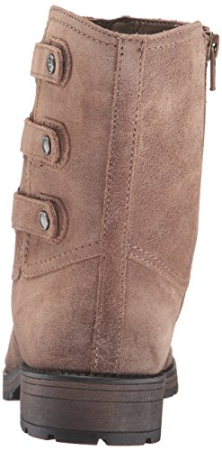 Dover Tynner Boots Ankle Fur Faux Suede Taupe Leather Naturalizer Womens 0xOqSAW