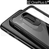 "OnePlus 6T Case and Cover - Amozo Shockproof All Sides Protection with""Air Cushion Corners"" Transparent Back Case Cover for OnePlus 6T (One Plus 6T)"
