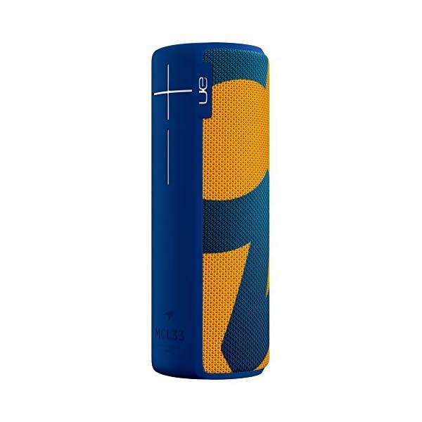 Enceinte MEGABOOM McLaren Sans fil/Bluetooth (Étanche et résistante aux chocs) - MCL33 - Bleu/Orange 2