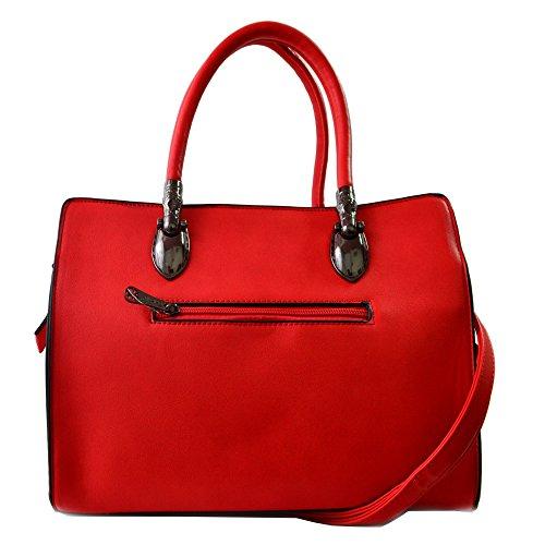 Gallantry Saffiano-Bolso para niñas (rígido) rojo