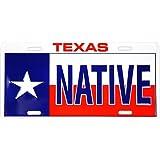 Texas Native License Plate