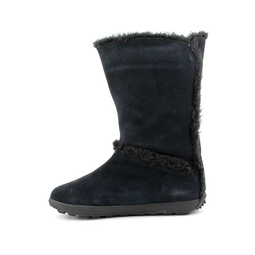 Timberland Femmes Mukluk Pull Fourrure Boot Noir / Daim