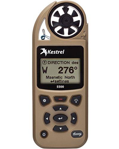 Kestrel 5500 Pocket Weather Meter Non-Link, Tan