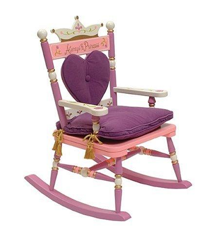 Kids Royal Chair (Wildkin Royal Princess Rocking Chair)