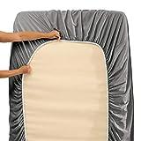 Nestl Deep Pocket Split King Sheets: Bed Sheets
